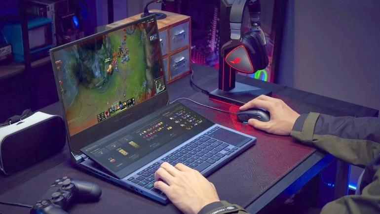 ordinateur portable de jeu